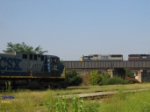 CSX 22 waiting in Yard 2